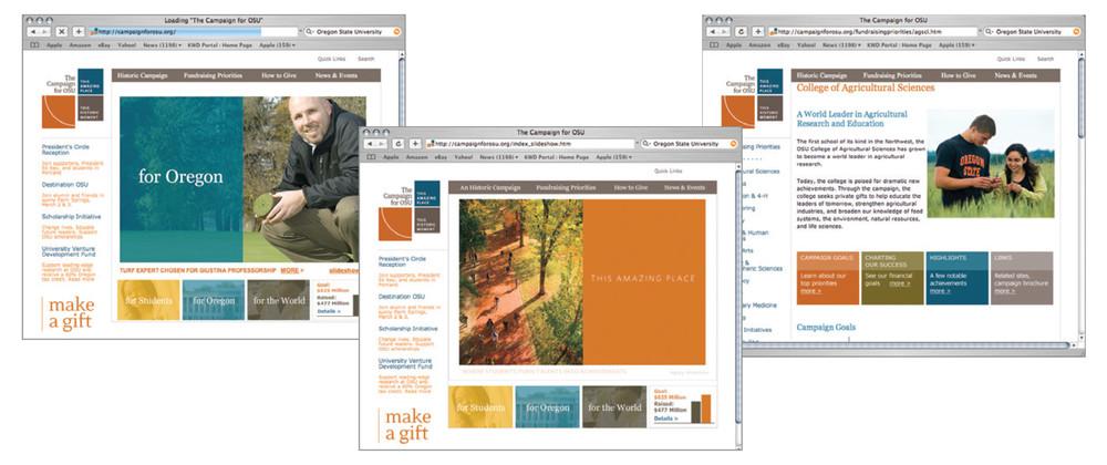 Kelsh Wilson Design  / OSU Campaign Branding / Case Study