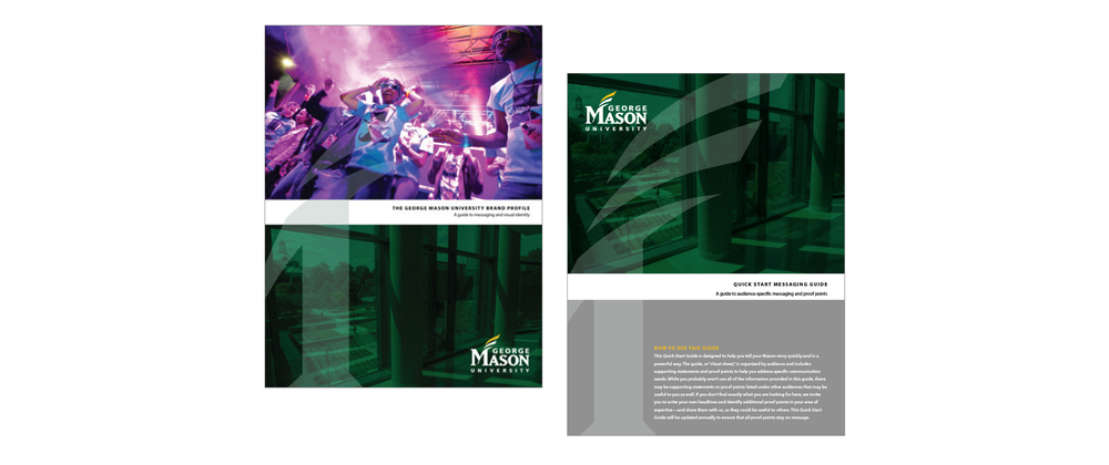 Kelsh Wilson Design / George Mason University / Branding / Case Study