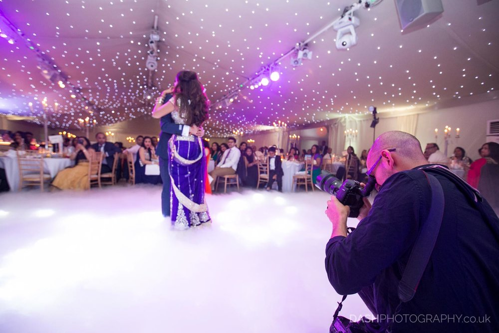 Yep thats me capturing a 1st dance