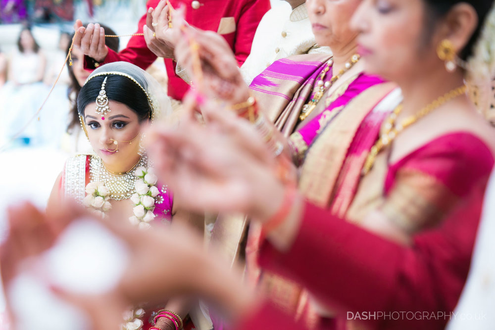 | Photographer: Dash Photography| Event: Hindu Wedding & Reception | Venue: Hilton Waldoft Astoria | City: London | | Year: 2017| Country: UK |