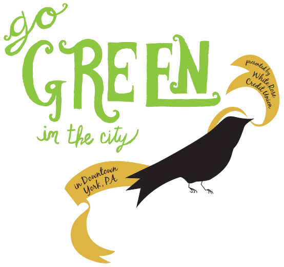 go green in the city logo