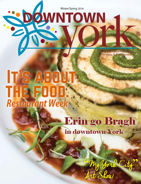 Downtown York Magazine Winter 2016