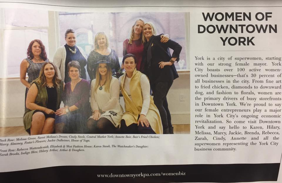 Downtown York PA Women Entrepreneurs