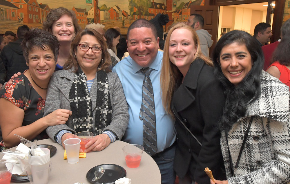 The inaugural First Friday Latino was held in March at the York College Center for Community Engagement. Since then, it's drawn hundreds of attendees, including Pennsylvania Governor Tom Wolf, as it rotates around Downtown York. Photo by Randy Flaum.