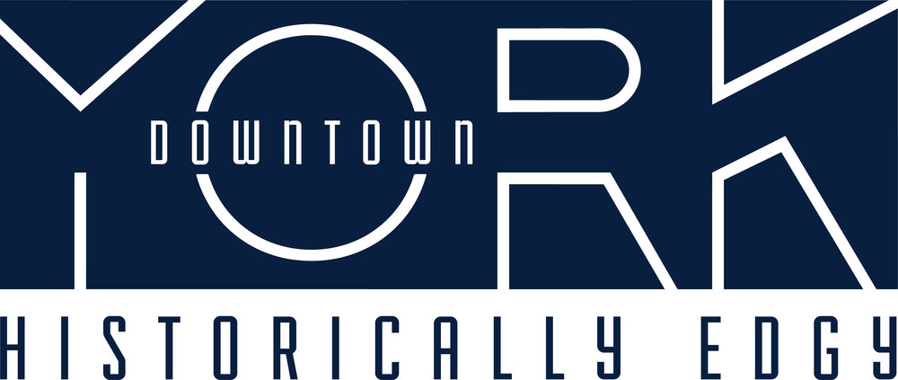 Downtown York's new logo is visionary in tone, while it's tagline pairs two of the city's top assets, history and its edgy, entrepreneurial spirit.