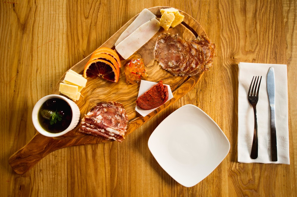 The Charcuterie Plate.