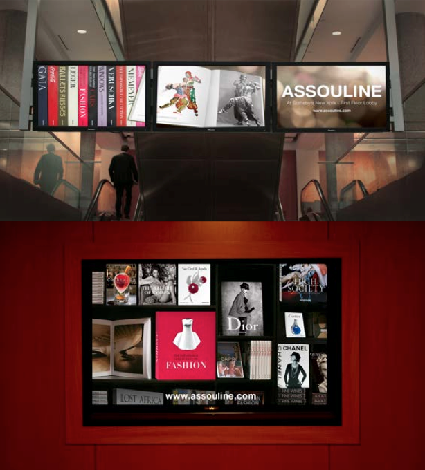 Sotheby's Digital Displays