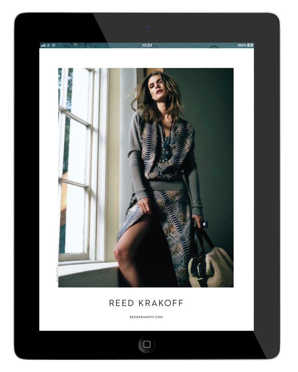 Vogue September 2014 Reed Krakoff Ad