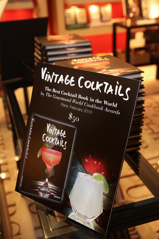 Vintage Cocktails Poster