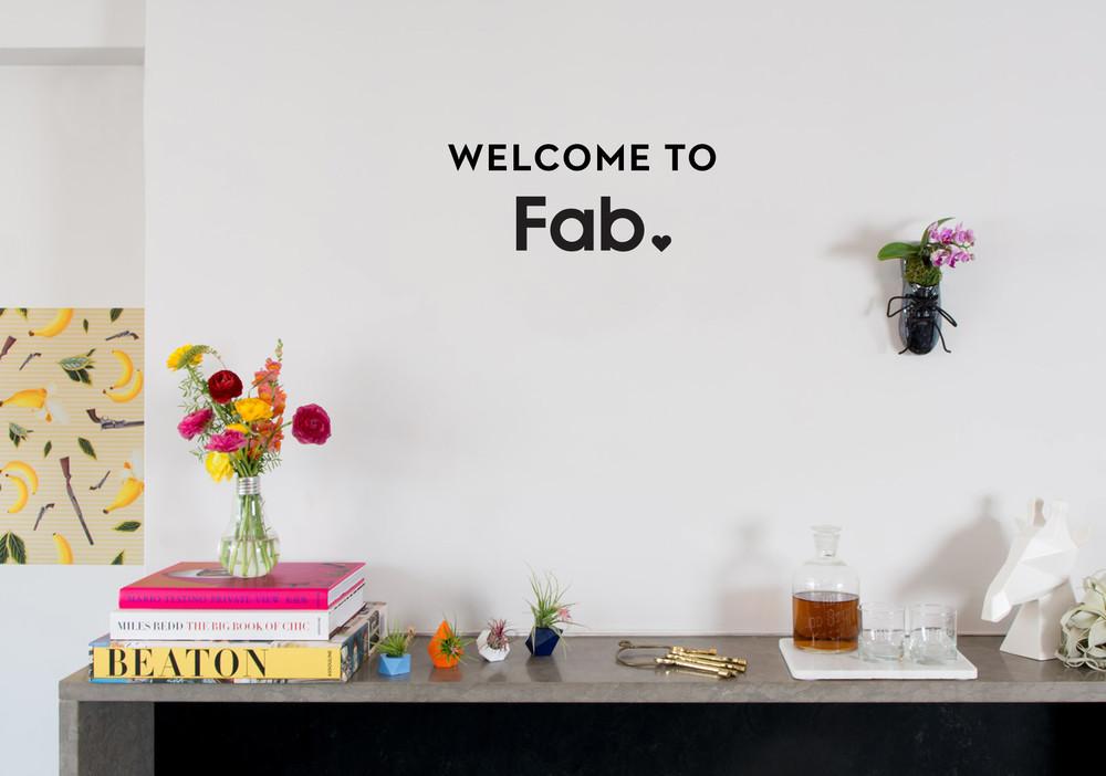Fab App Intro Slide