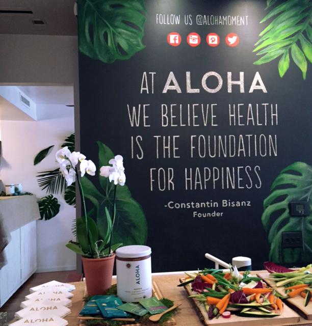 Aloha Event Chalk Signage