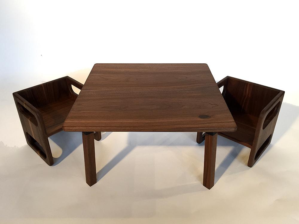 sc 1 st  d+p Design Build LLC & Ella Adams Kids\u0027 Table and Cube Chair Set \u2014 d+p Design Build LLC