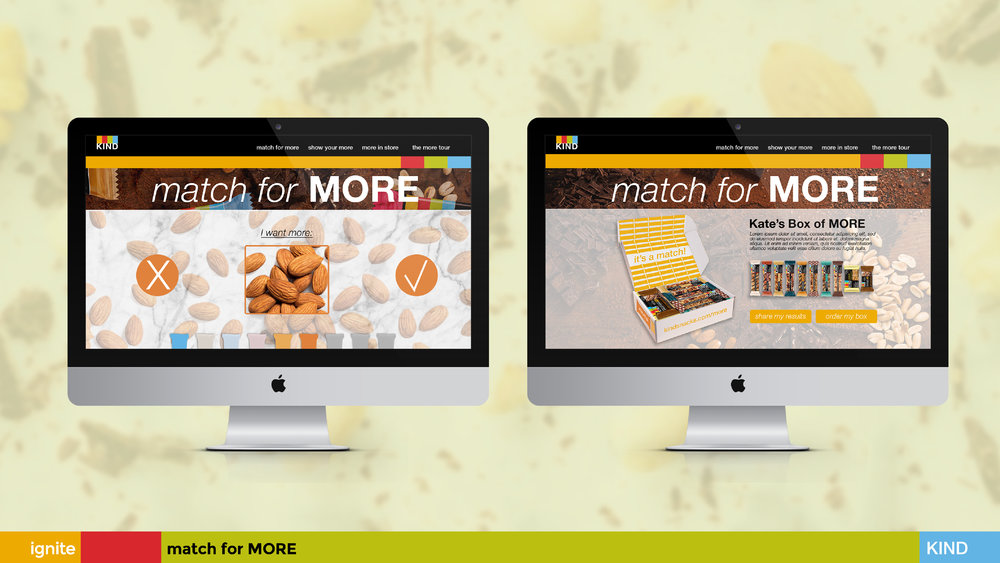 """Match for More"""