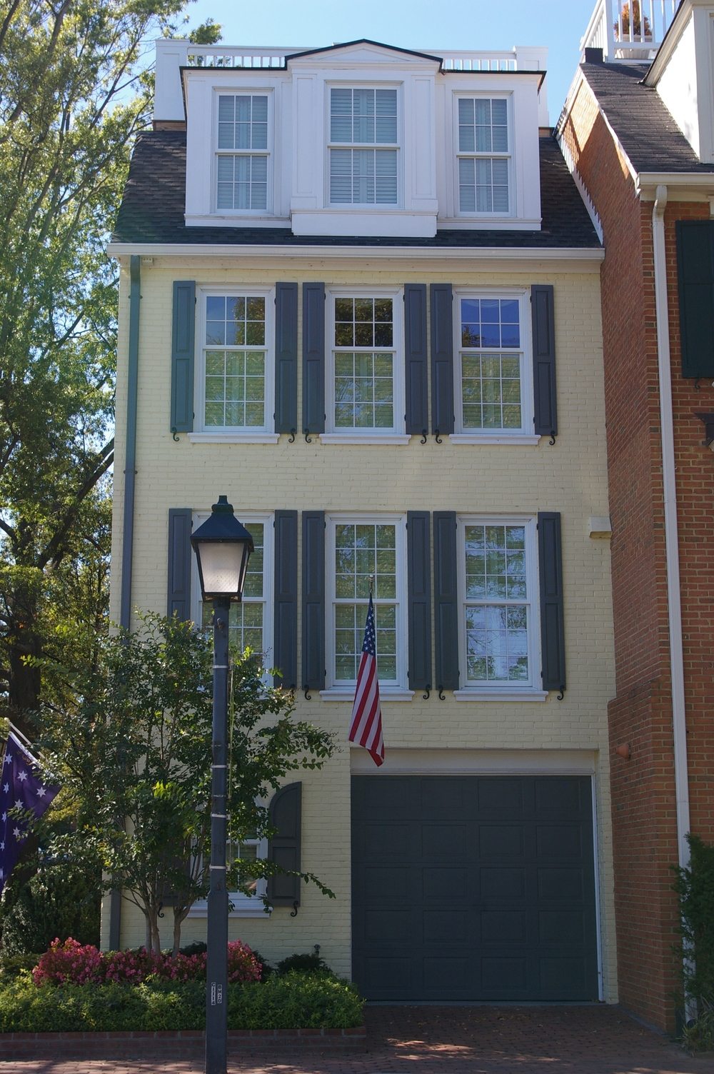 This home located across from the Potomac River in Old Town was completely remodeled.