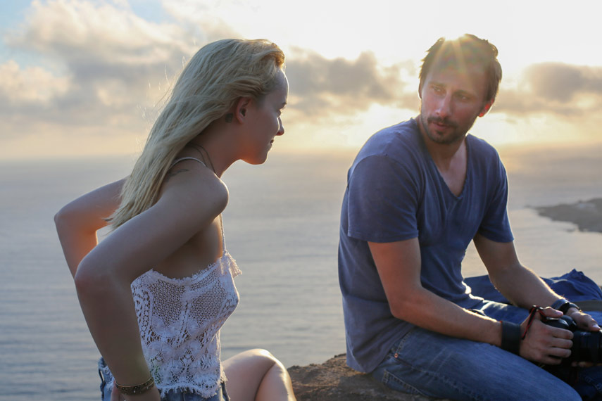 Matthias Schoenaerts & Dakota Johnson, A Bigger Splash