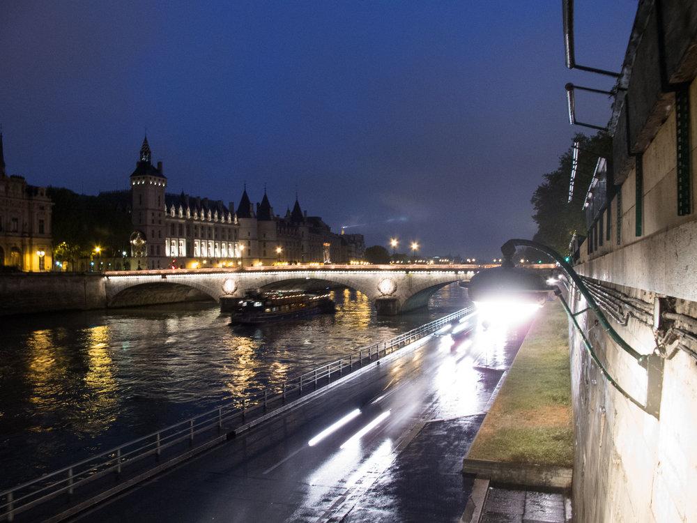 The Seine, Paris.