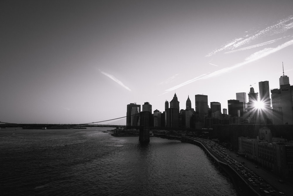 Skyline from Manhattan Bridge