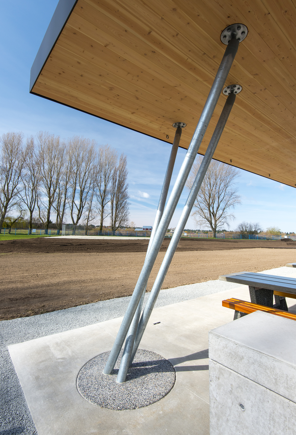 Centennial Beach Picnic Shelters - Vancouver