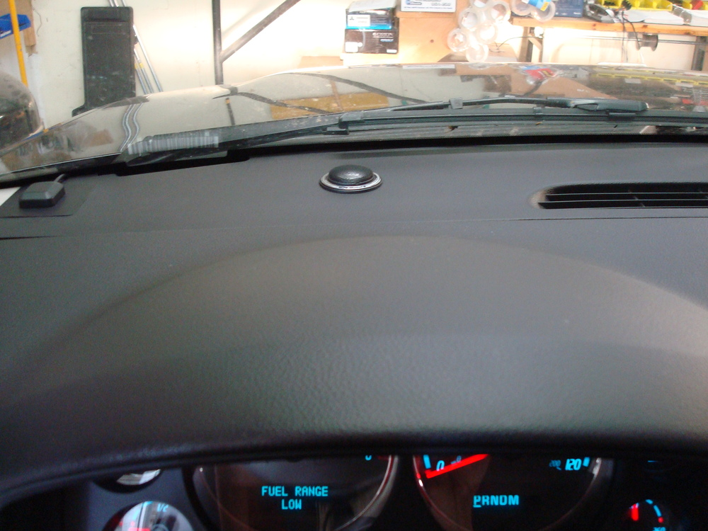 2007 Yukon Denali XL - JL Audio ZR tweeters mounted in the dash
