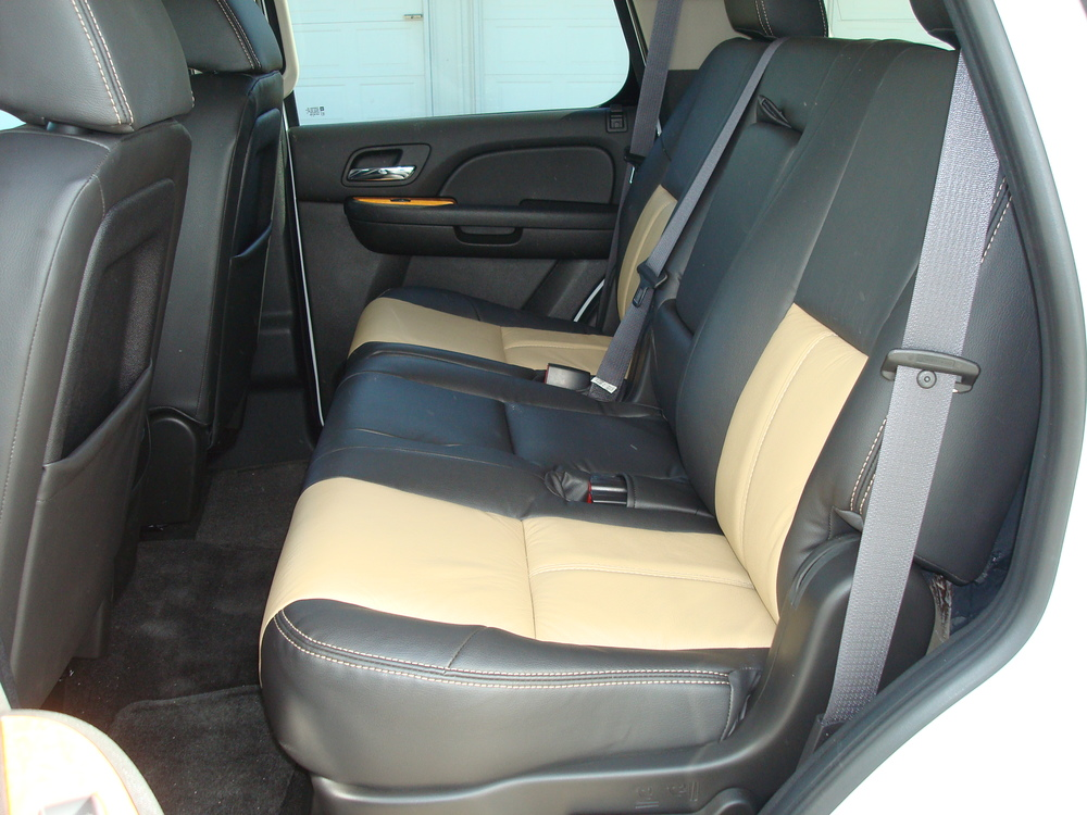 2011 Tahoe - Katzkin leather seat upgrade