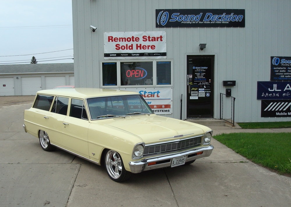 1967 Chevy II Wagon - Head Unit Installation