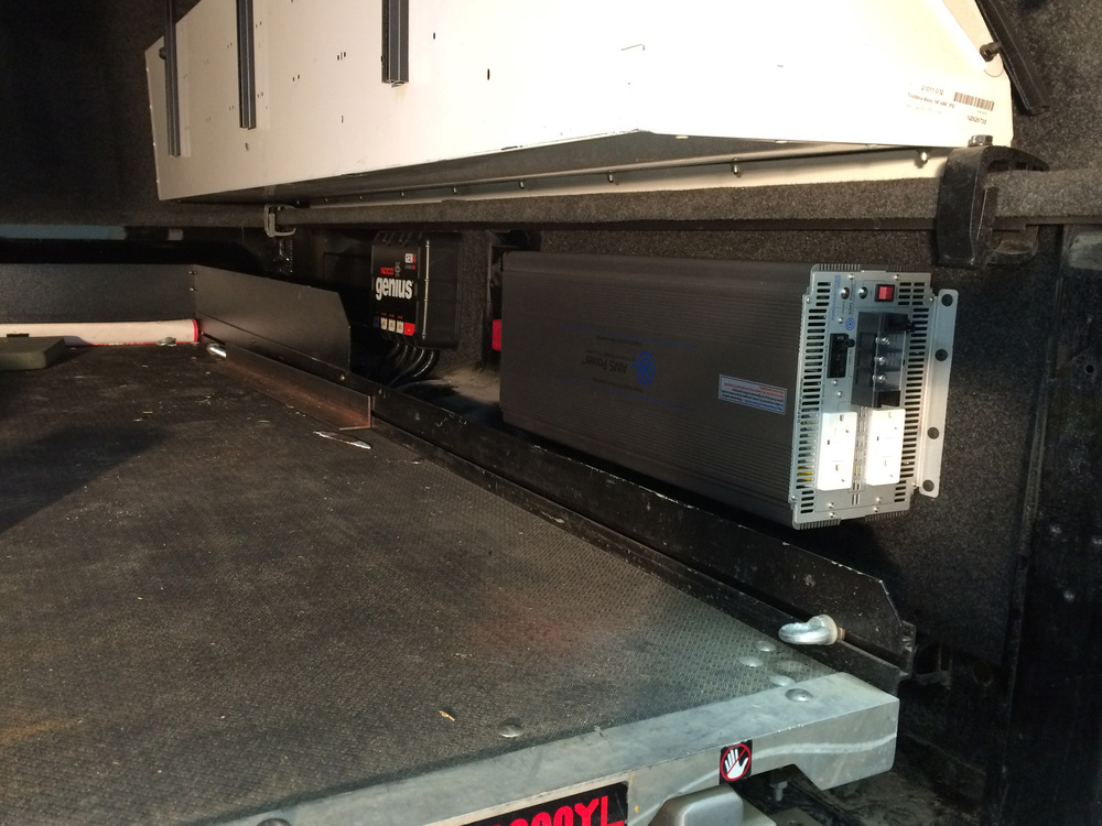 2015 Ram 3500 5,000 Watt Power Inverter Installation