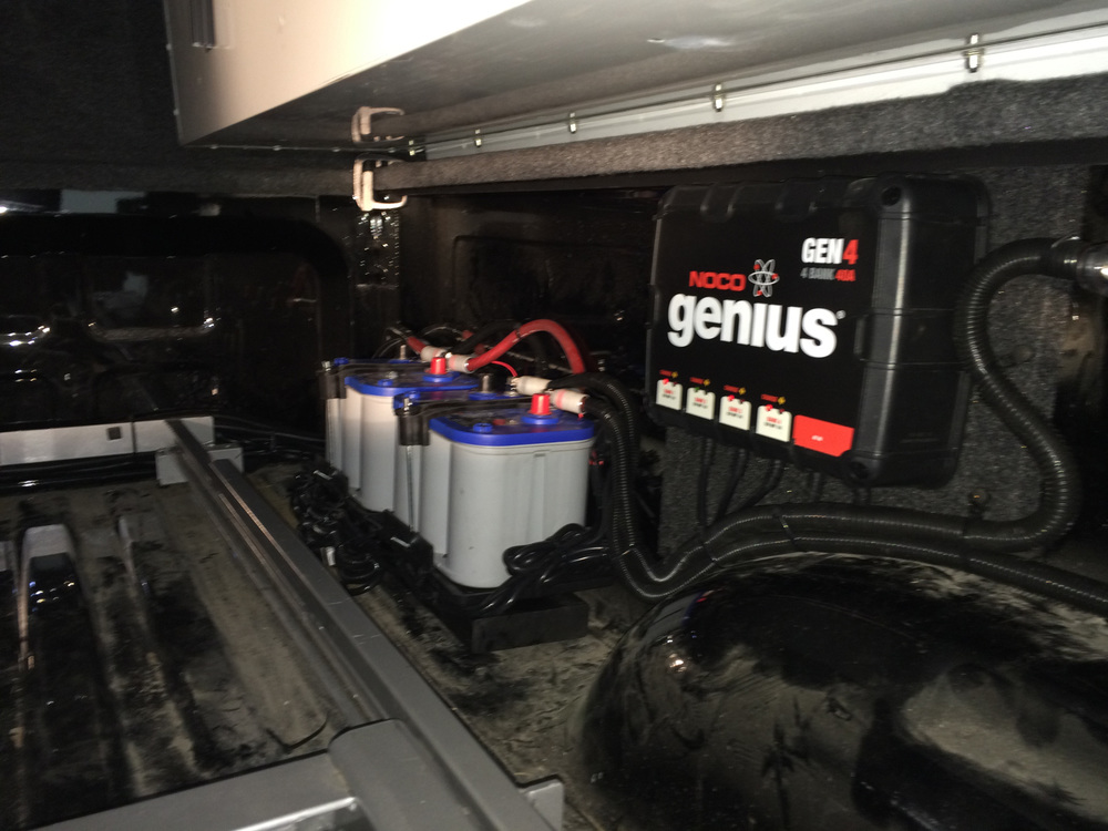 NOCO Genius 4-Bank 40A On-Board Battery Charger