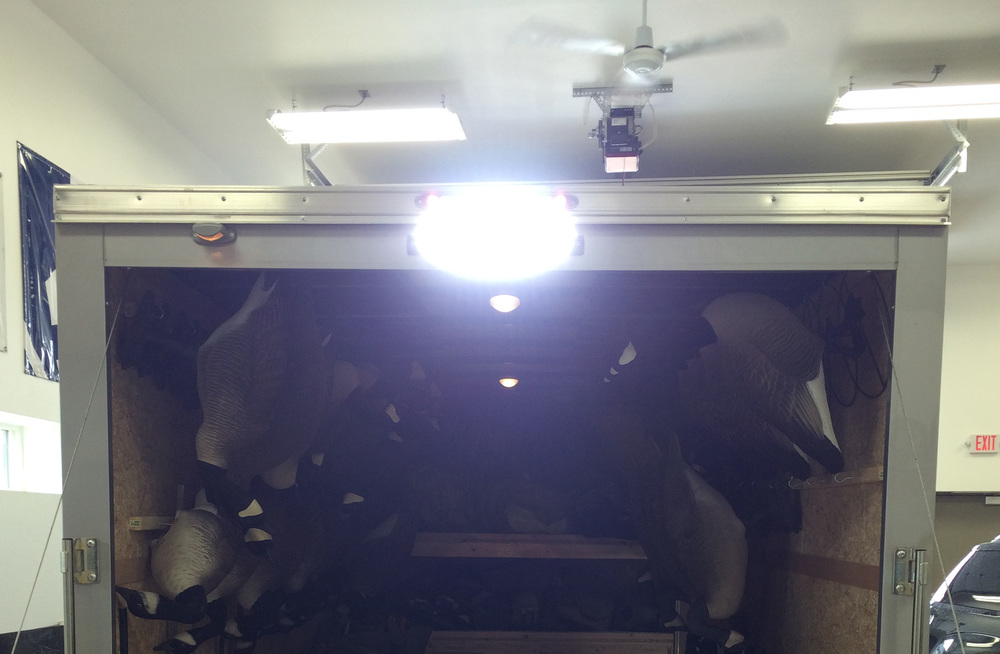 LED Light Bar Added to Trailer