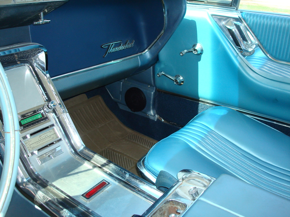 1964 Thunderbird - JL Audio Kick Panel Speakers