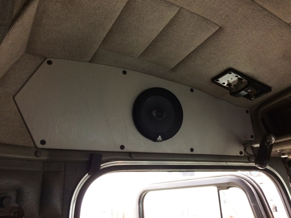 "Front Pair of JL Audio 6.5"" TR Speakers"