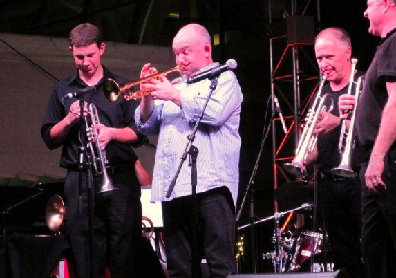 Soloing with James Morrison at the 2012 Singapore Brass Explosion