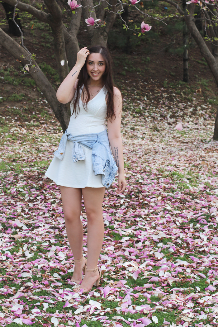 cherry-blossoms-zara-sandals-forever-21-dress