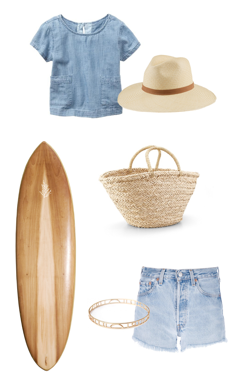 weekly-favorites-tilley-surf-gap-vintage-denim-shorts