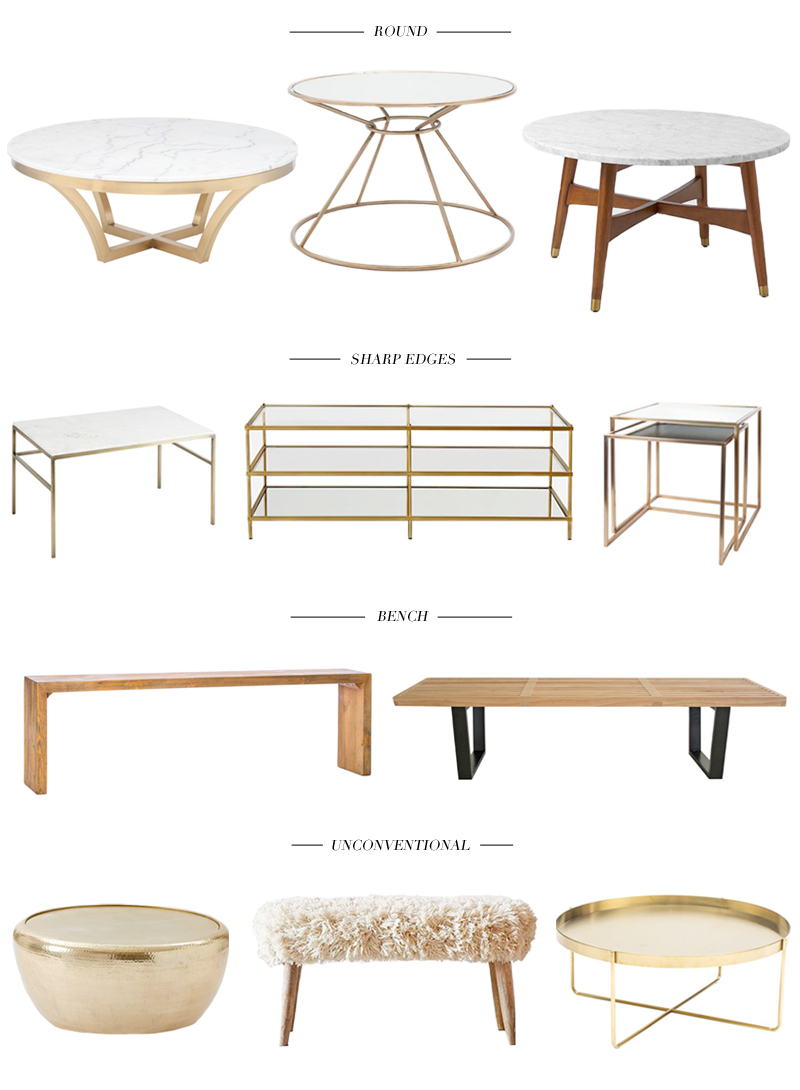 11 coffee tables for a chic living room hazel scout round dwell studio dorian coffee table zara home round coffee table west elm reeve mid century coffee table geotapseo Gallery
