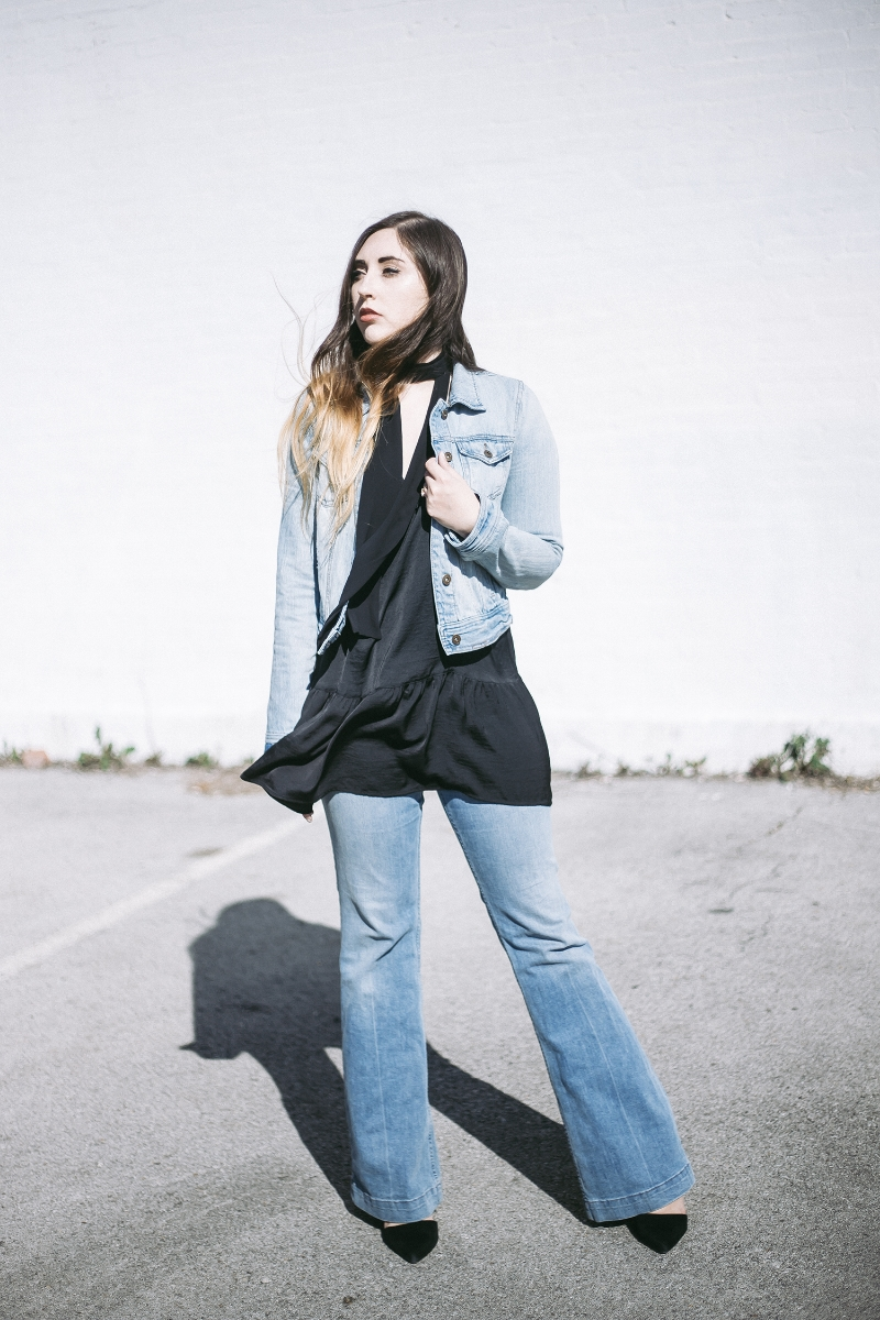 hazel-and-scout-free-people-skinny-scarf-wide-leg-denim-bell-bottom-70s-vintage-who-what-wear-target-forever-21-janna-park-style-blogger-spring-2