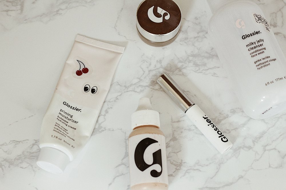 glossier-review-stretch-concealer-priming-moisterizer-milky-jelly-bow-brow-hazel-and-scout-beauty-makeup