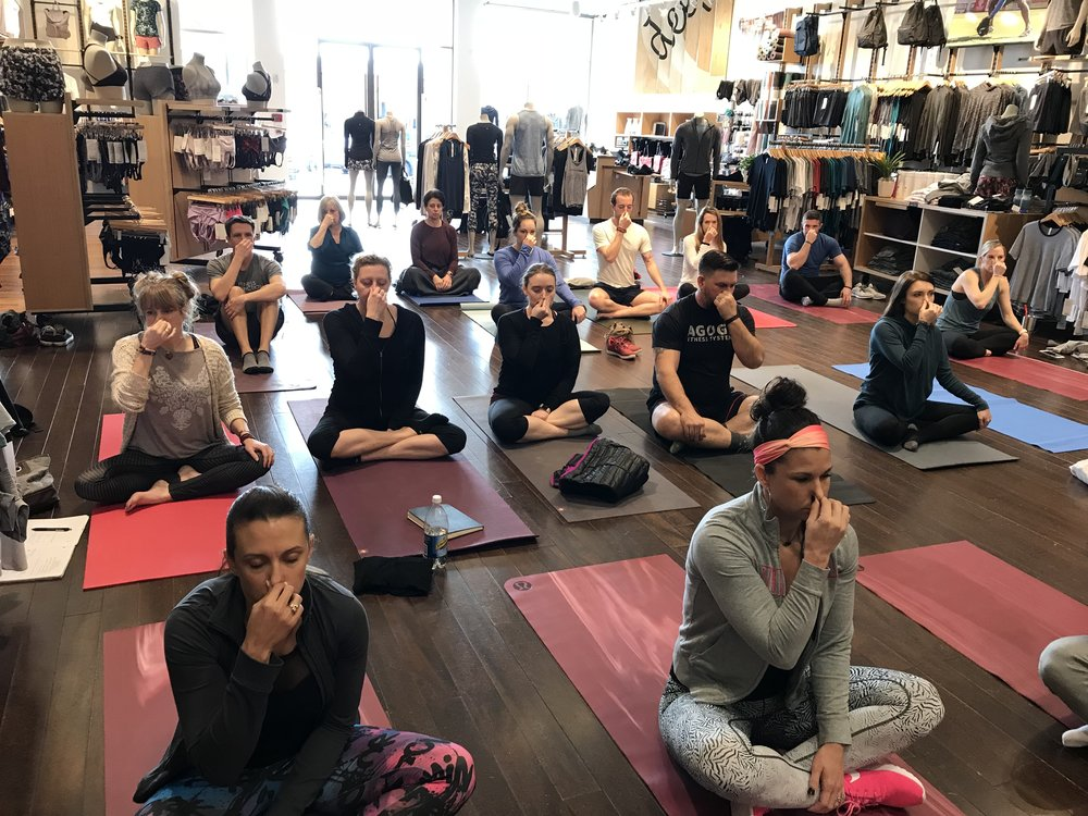 Dr. Beau Beard Aether Class Lululemon Birmingham