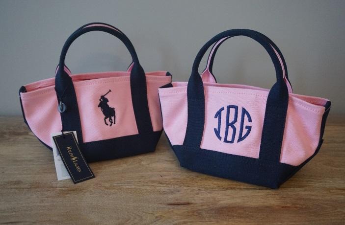 Ralph Lauren Girls  Canvas purse — H. Behrmann Designs 08c2b4999248c
