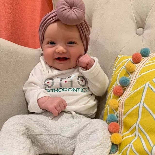 OMG could she be any cuter! Thanks for sharing! @ottoortho #repost #hbehrmanndesigns