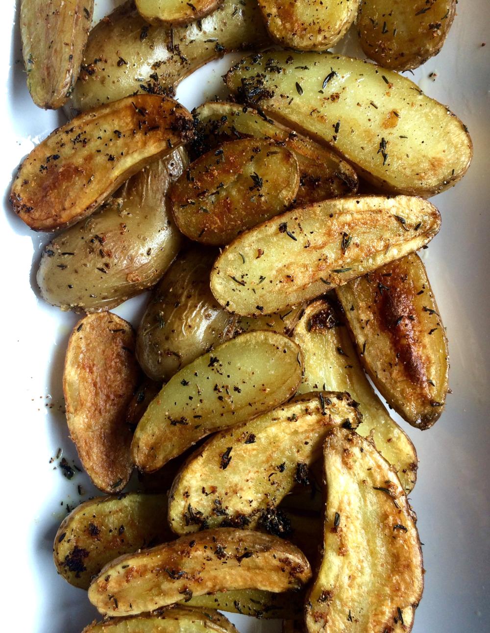 sauteed fingerling potatoes