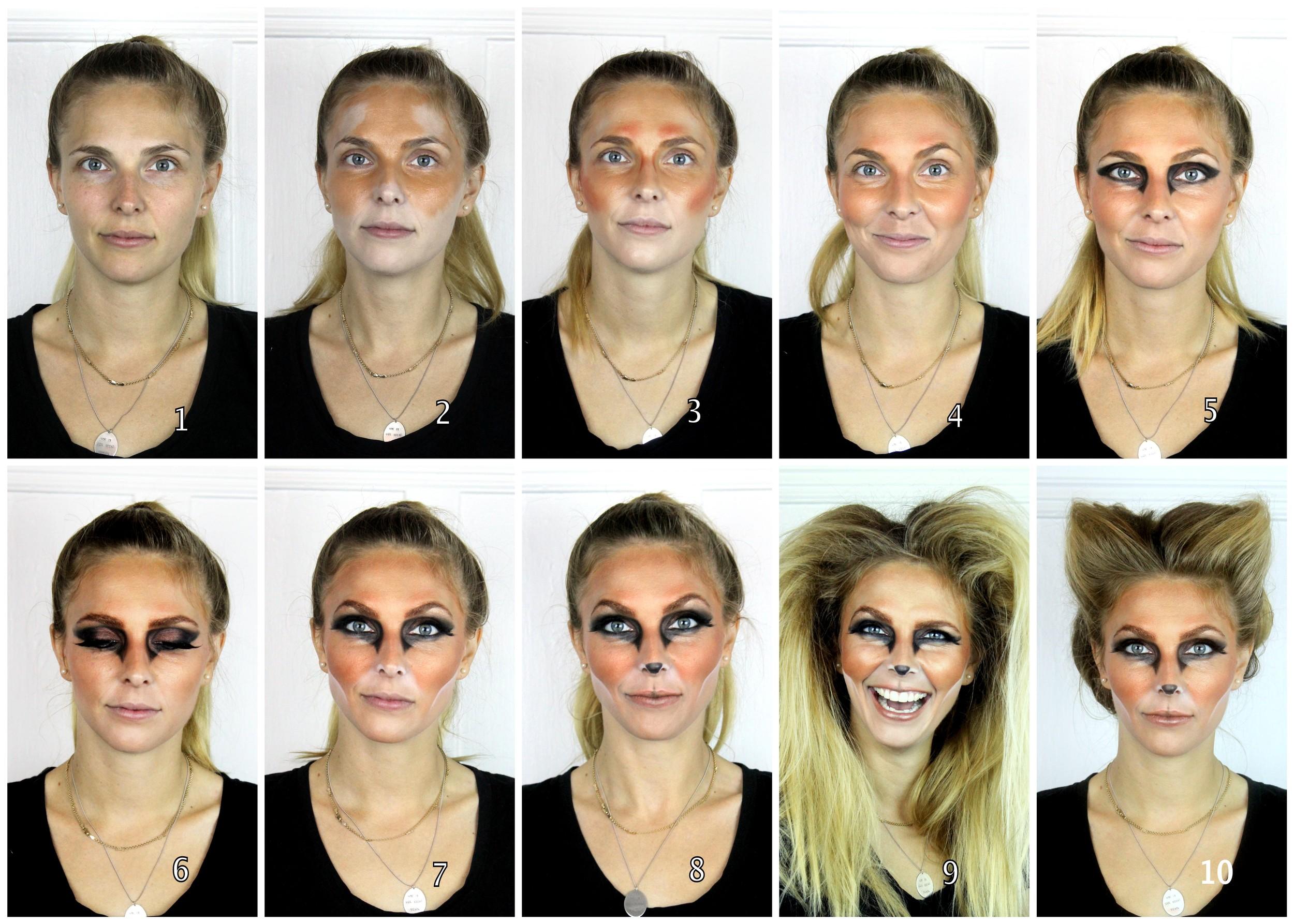 A Foxy Halloween Katie Nash - Fox-makeup