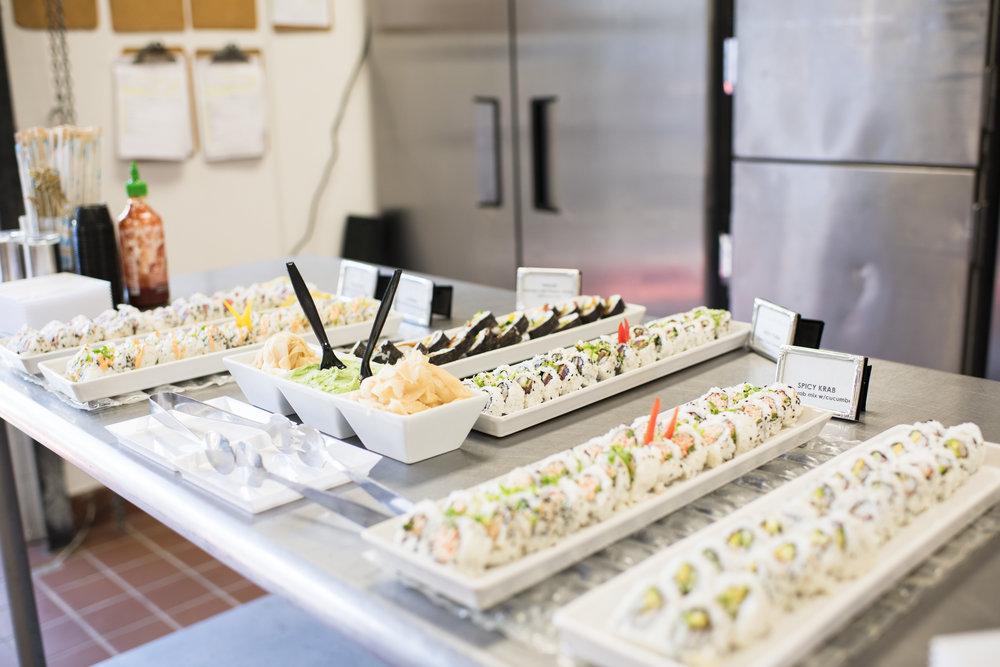 careysheffieldfoodie 0046 Sushi Display.JPG
