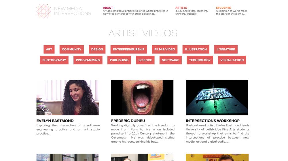 Website concept development and design
