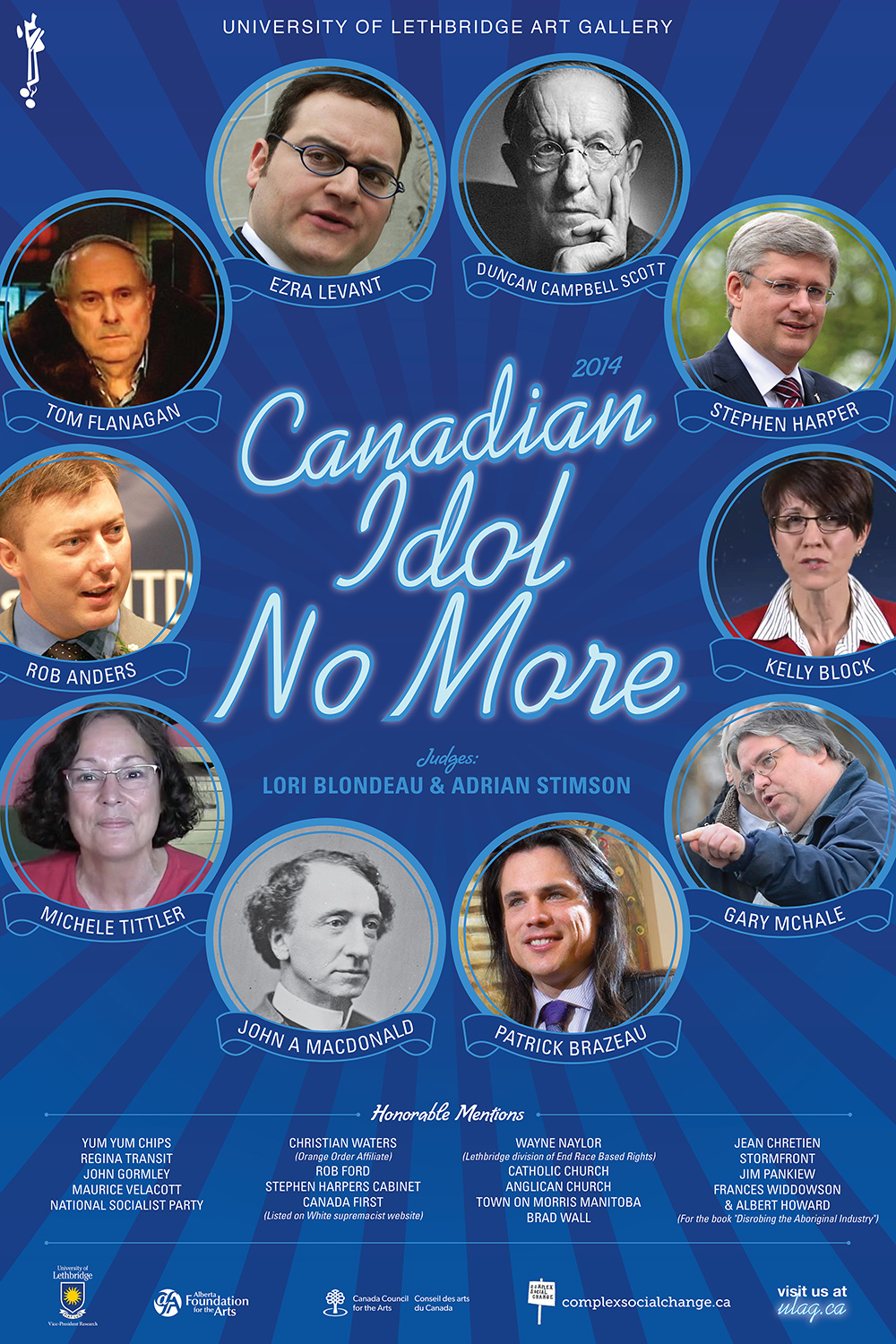 Canadian Idol No More Poster