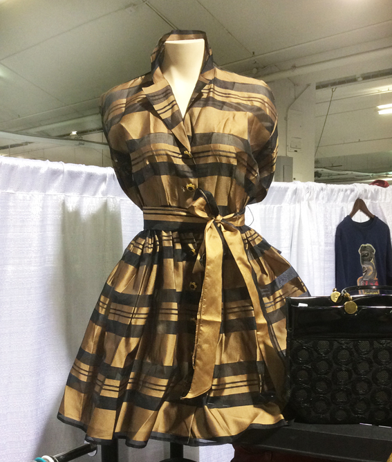 Toronto Vintage Clothing Show Gold dress-sm.jpg