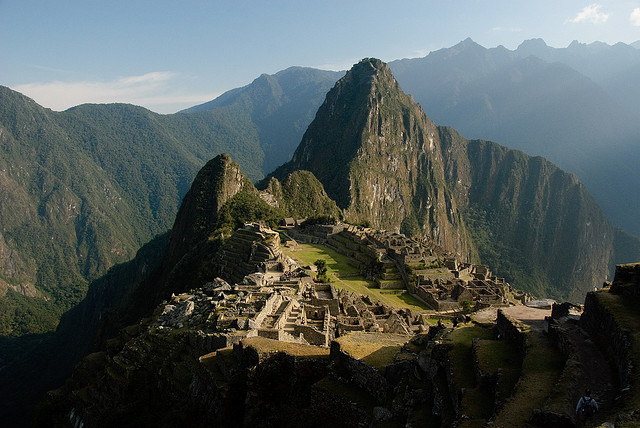 Machu Picchu, Peru. Photo by  Eduardo Zárate  via Flickr CCL.