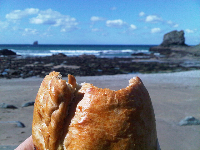 Cornish pasty. Photo by monkeymagic1975 via Flickr.com