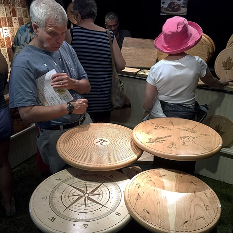 The league of New Hampshire Craftsmen hold a huge fair every Summer at the Mt. Sunapee Resort in Newbury.