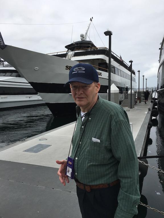 Bob at the San Diego Harbor