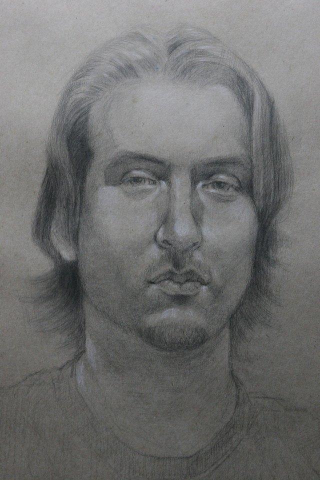 Jason drawn by   Kakwirakeron R. Montour